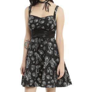 DISNEY Belle Corset Dress Printed Large